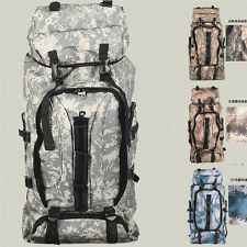 60L Field Camouflage Backpack Double The Backpacker Tourism Travel Package