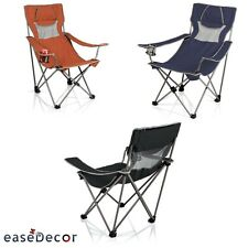 CAMPSITE Chair - Folding Camp Chair + Carry Bag Outdoor Furniture Picnic Time