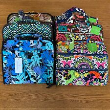 NWT Vera Bradley HANGING ORGANIZER large cosmetic case bag jewelry tote travel
