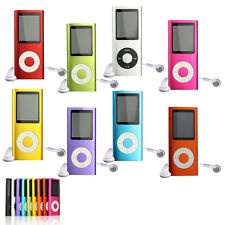 "Multi-color Slim 8GB Mp3 Mp4 Player With 1.8"" LCD Screen Games Movie FM Radio"