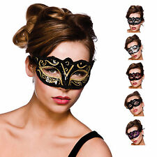 New Ladies Verona Eyemask Fancy Dress Accessory TV Film Festival Halloween Mask