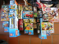 Lot set lego - city/kingdoms/racers/friends/castle/cars/... - rare - a la piece
