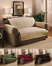 Luxury Quality Microfiber Pet Dog Loveseat/Small Sofa Protector Cover