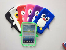 NEW Penguin Silicone Rubber Case Cover For Samsung Galaxy Tab 3 7.0 P3200 P3210