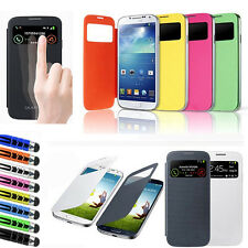 New Smart S-VIEW Flip Battery Case Cover For SAMSUNG GALAXY S4 Mini I9190