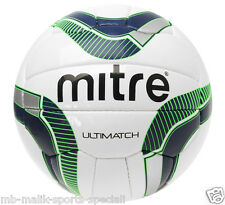 Mitre Ultimatch Football- Size 3,4,5