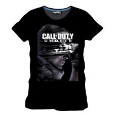 "Call of Duty Ghosts - T-Shirt ""Logo with Soldier"" V2"