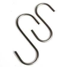 New 5pcs Bucket Hook Hanging Plant Pot Rope Hooks S Stainless Steel Metal 2 Size