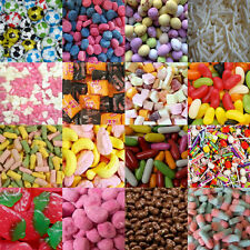 100-1500GRMS  RETRO FAVOURITE SWEETS CHOOSE FROM 50 DIFFERENT TYPES PIC N MIX