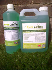 Artificial Lawn Fake Grass Cleaner Pet Odour Smell Stain Remover 5 litre bottles