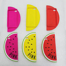 New Cute 3D Watermelon SILICONE Mobile Phone Case Cover  for iPhone 5/5S