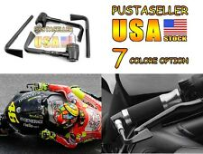"""7/8"""" 7 Color Brake Clutch Levers Pro Guard System Universal For Honda YZF GSXR"""