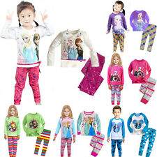 nwt frozen princess girls pajama set baby kids children sleepwear nightgown pjs