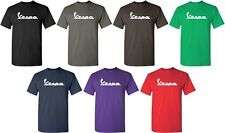 Vespa T-shirt Italian Scooter shirt Cool Geek Logo Tee S-5XL