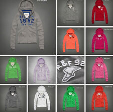 NEW ABERCROMBIE & FITCH WOMENS HOODIES SIZES XS, S, M, L