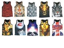 KAYDEN K SUBLIMATION men tank top 10 designs S - XL
