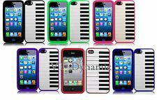 for iPhone 5 Piano Music Silicone Soft Cell Phone Case Skin Cover Accessory 5G