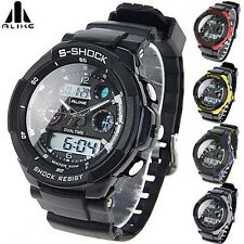 New S-SHOCK Watch Sport Quartz Wrist Men Mens Analog Digital Waterproof Sports