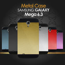 Luxury Metallic Brushed Aluminium Metal Hard Case For Samsung Galaxy Mega 6.3