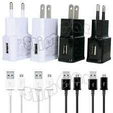 EU/US AC Wall Travel Charger for Samsung Galaxy S2 S3 S4 Note Mega Ace mini
