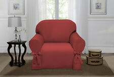 IVORY LUCERNE CHAIR SLIPCOVER, COUCH COVER, SOFA, LOVE SEAT, CHAIR, 4 COLORS