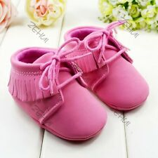 Baby Infant Crib Shoes Comfortable Girls Boys Toddler Shoes Cotton Blend 3-12M