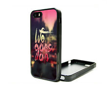 Apple iPhone 5 5S or 4G 4S 4 Fitted Case Skin Cover Hipster Tupac Life Quote