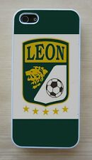 Club Leon Mexico Liga MX White Case For iPhone 4/4S, 5/5S, 5C,6,6 Plus