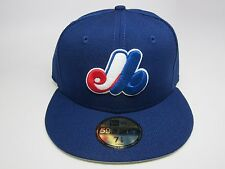 New Era MLB MONTREAL EXPOS CUSTOM 5950 Fitted Cap  [DARK ROYAL]  COOPERSTOWN