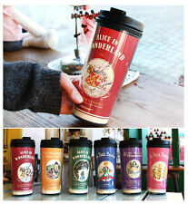 7321 Lovely 500ml Travel Coffee Tea Mug Thermos Insulated Tumbler
