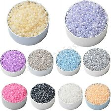 Wholesale 1000 Pcs Round Seed Loose Spacer Beads Charms Findings 3mm 10 Colors