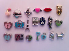 **RETIRING August  10**  Origami Owl Charms Buy 5 charms get the 6th one free