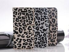 Leopard Print Pattern Leather Skin Case Cover Protector For Apple iPhone 5S 5 4G