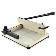 """17"""" Professional Heavy Duty Industrial Guillotine Paper Cutter Trimmer Machine"""