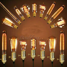 E27 ES 40W Vintage Antique Edison Style Incandescent Clear Glass Light Lamp Bulb