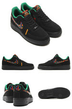 (488298-059) Men's Nike Air Force 1 Low Peace Black/Multi Color