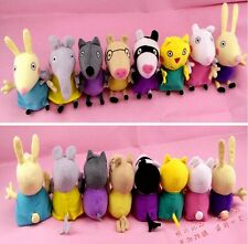 Peppa Pig Family Plush Stuffed Toy Beanie Baby Set Doll GEORGE Children's Gift