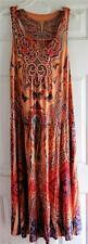 NEW  One World Long Dress Hippie BOHO Elegant Summer Fun Butterflies S, M, 1X
