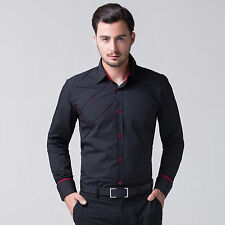 2014 SO SXEY PJ Luxury Men's Slim Dress Shirts Everyday Tops Casual Formal Shirt