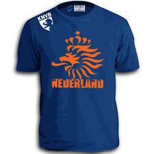 Netherlands World Cup Soccer Fifa Holland Nederland Dutch KNVB Jersey T-Shirt W
