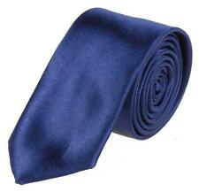 New 30 Colors New Mens Slim Skinny Solid Color Plain Satin Tie Narrow Necktie Ef