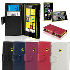 New Hot Wallet Luxury Leather Magnetic Flip Stand Cover Case For Nokia Lumia 520