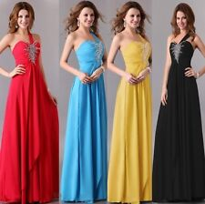 LA DISCOUNT Evening Bridesmaid HOMECOMING BALL Gown DANCE Long Dress Prom Formal