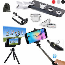 EEEKit Photo Kit for Phone Bluetooth Selfie Stick Pole Monopod/Tripod Mount+Lens