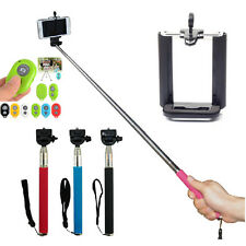 New Extendable Handheld Self-portrait Tripod Monopod+Clip+Bluetooth Self-timer