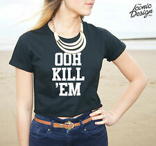 * OOH KILL 'EM Crop Top Tank Kill'em Them Tumblr Vine Fashion Funny Dope Fresh *