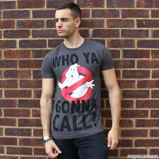 Mens Who You Gonna Call Ghostbusters T-Shirt by Fabric Flavours