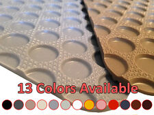 1st & 2nd Row Rubber Floor Mat for Mercury Sable #R4576 *13 Colors