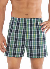 Jockey Mens Classic Full Cut Boxer 4 Pack Underwear Boxers cotton blends