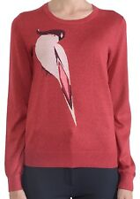 NWT $258 Marc by Marc Jacobs Parrot Print Sweater